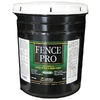 Lexington Paint & Supply Barn and Fence Black Satin Water-Based Exterior Paint (Actual Net Contents: 640-fl oz)
