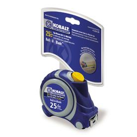 Kobalt 25-ft Locking SAE Tape Measure