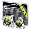 Komelon 25-ft and 12-ft Chrome Multi-Pack Tape Measure
