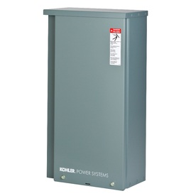 KOHLER 200-Amp Whole House, Service Entrance Rated Automatic Transfer Switch (For Use with 38Rcl and 48Rcl Generators)