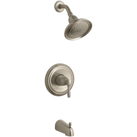 KOHLER Devonshire Vibrant Brushed Bronze 1-Handle Tub and Shower Faucet Trim Kit with Single-Function Showerhead