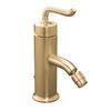 KOHLER Purist Vibrant Brushed Bronze Vertical Spray Bidet Faucet with Trim Kit
