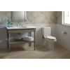 Sterling Rockton White 1.6-GPF 12-in Rough-In Dual-Flush High-Efficiency Toilet Tank