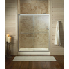 KOHLER Fluence 56-in to 59-in W x 70-in H Matte Nickel Sliding Shower Door