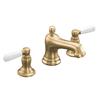 KOHLER Bancroft Vibrant Brushed Bronze 2-Handle Widespread WaterSense Bathroom Faucet (Drain Included)