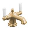 KOHLER Bancroft 2-Handle Single Hole WaterSense Bathroom Faucet (Drain Included)