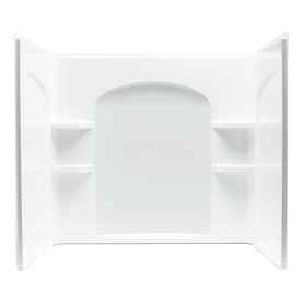 Sterling Ensemble Vikrell Bathtub Wall Surround (Common: 32-in x 60-in; Actual: 54-in x 32-in x 60-in)