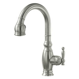 KOHLER Vinnata Vibrant Stainless 1-Handle Bar Faucet