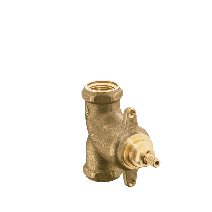 shop kohler 3 4 in brass female in line shower valve at