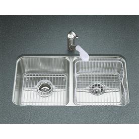 Kohler Undertone Sink : ... Sinks Kitchen Sinks KOHLER Undertone Stainless Steel Double-Basin