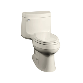 KOHLER Cimarron Biscuit 1.6 GPF Elongated 1-Piece Toilet