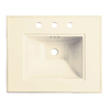 KOHLER Memoirs 24.5-in L x 20.5-in W Fire Clay Rectangular Pedestal Sink Top