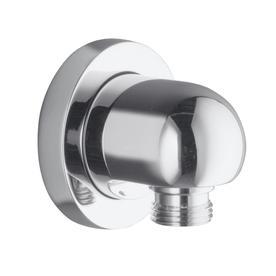 shop kohler stillness wall mount supply elbow polished chrome at. Black Bedroom Furniture Sets. Home Design Ideas