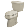 KOHLER Highline Sandbar Elongated Toilet
