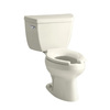 KOHLER Wellworth Biscuit Elongated Toilet