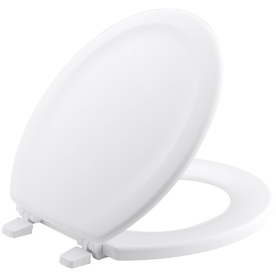 KOHLER Stonewood White Wood Round Toilet Seat 4648-0 Home Coupons