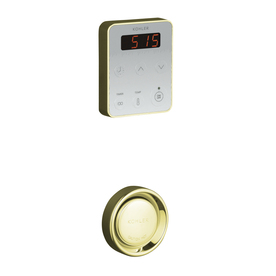 KOHLER Fast-Reponse Steam Generator Control Kit, Vibrant French Gold