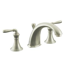 KOHLER Devonshire Vibrant Brushed Nickel 2-Handle Fixed Deck Mount Tub Faucet