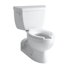 KOHLER Barrington White Elongated Toilet
