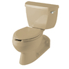 KOHLER Barrington Mexican Sand Elongated Toilet