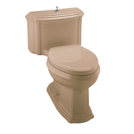 KOHLER Portrait Mexican Sand 1.6-GPF (6.06-LPF) 12-in Rough-In Elongated 1-Piece Comfort Height Toilet