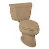 KOHLER Wellworth Mexican Sand High Efficiency Elongated Toilet