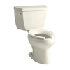 KOHLER Wellworth Biscuit High Efficiency Elongated Toilet
