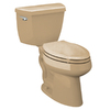 KOHLER Highline Mexican Sand High Efficiency Elongated Toilet