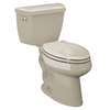 KOHLER Highline Sandbar High Efficiency Elongated Toilet