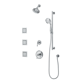KOHLER Devonshire Polished Chrome 2-Handle Tub and Shower Faucet Trim Kit with Multi-Function Showerhead