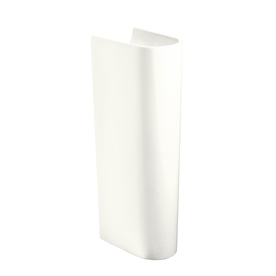 KOHLER 28-3/4-in H Escale White Vitreous China Pedestal Sink Base