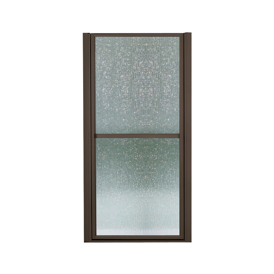 Shop Sterling 33 In To 36 In Frameless Hinged Shower Door