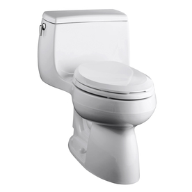 Home Bathroom Toilets & Toilet Seats Toilets KOHLER Gabrielle White 1 ...