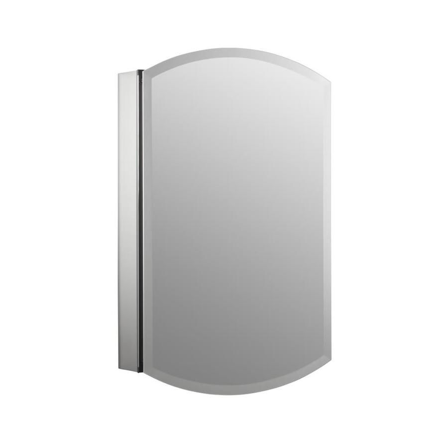 Shop Kohler Archer 20 In X 31 In Aluminum Metal Surface