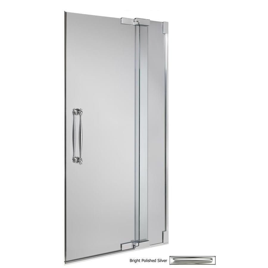 Shop Kohler Frameless Pivot Shower Door At