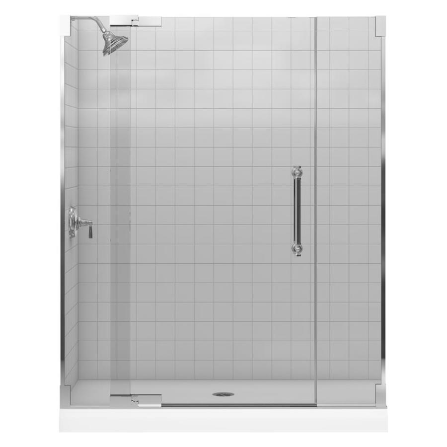 Shower Doors Frameless Shower Doors Lowes