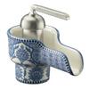 KOHLER Bol Biscuit 1-Handle Single Hole WaterSense Bathroom Faucet (Drain Included)