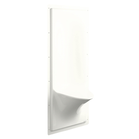 KOHLER White Plastic Wall Mount Shower Seat