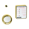 KOHLER Vibrant Polished Brass Steam Adapter Kit