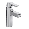 KOHLER Singulier Polished Chrome 1-Handle Single Hole Bathroom Faucet (Drain Included)