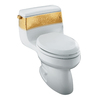 KOHLER Gabrielle White 1.4 GPF Elongated 1-Piece Toilet