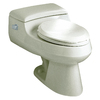 KOHLER San Raphael 1.0-GPF (3.79-LPF) 12-in Rough-In WaterSense Elongated Pressure Assist Comfort Height Toilet