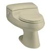 KOHLER San Raphael 1.0-GPF (3.79-LPF) 12-in Rough-In WaterSense Elongated Pressure Assist Comfort Height Toilet
