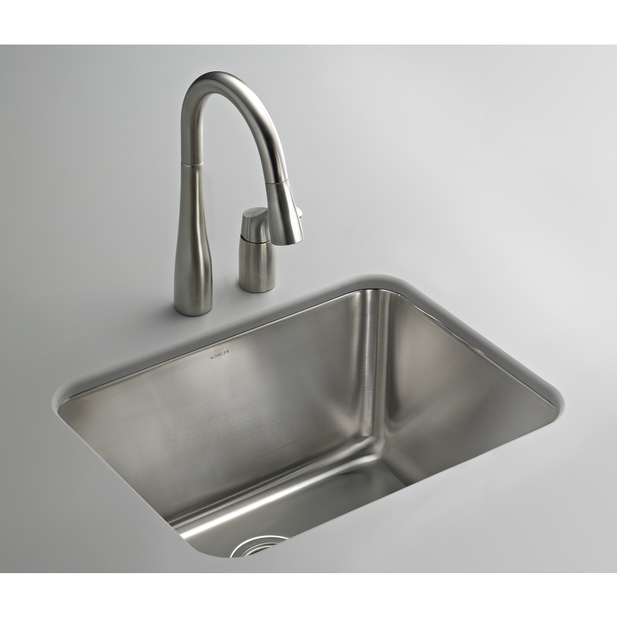 Kohler Stainless Sink : Shop KOHLER Stainless Steel Laundry Sink at Lowes.com