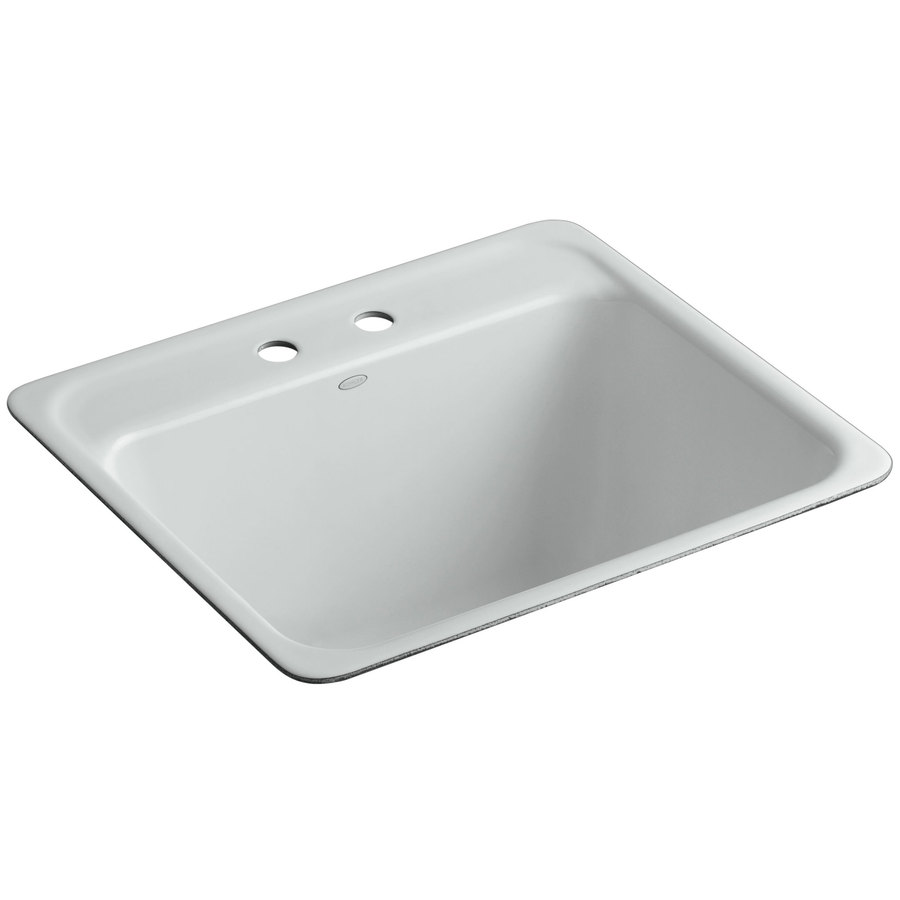previous next zoom out zoom in kohler ice grey cast iron laundry sink