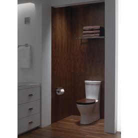 KOHLER Persuade White 1.6-GPF 12-in Rough-In WaterSense Elongated Dual-Flush 2-Piece Standard Height Toilet