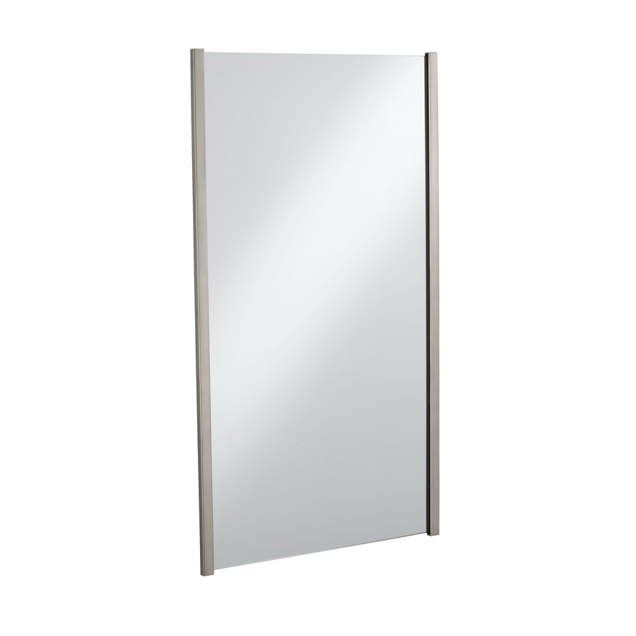 Shop Kohler Loure H X W Vibrant Brushed Nickel Rectangular Bathroom Mirror At