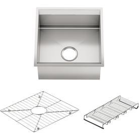 ... Degree Single-Basin Stainless Steel Undermount Commercial Bar Sink