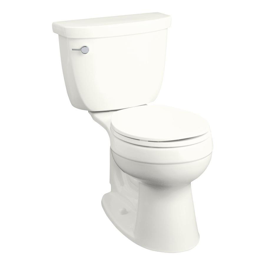 Kohler Bathroom Toilets : ... -LPF) 12-in Rough-In Round 2-Piece Comfort Height Toilet at Lowes.com