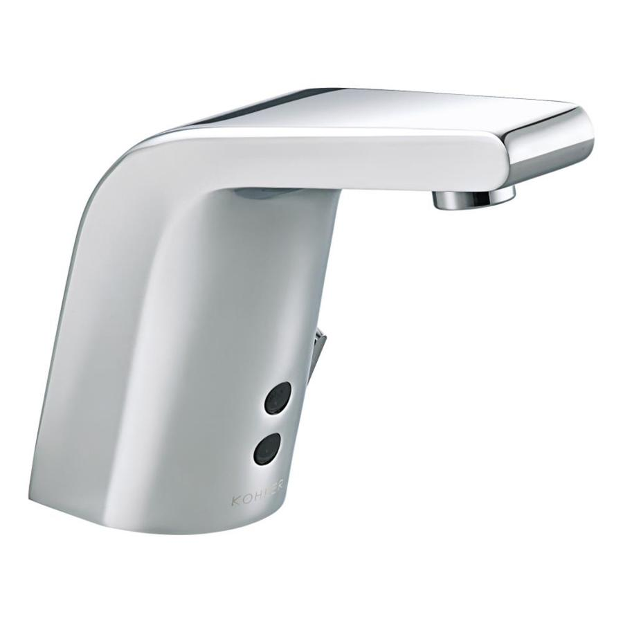 shop kohler hybrid polished chrome touchless bathroom sink